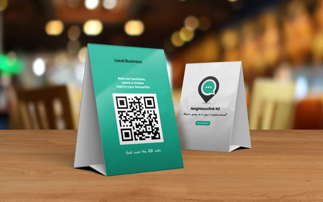 Engage more with your customers using your business listing's unique QR code